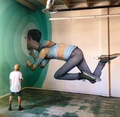 New indoor work by Seth GlobePainter - for Art Basel - Wynwood, Miami - Dec 2014