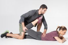 Wish you had better flexibility? Well, grab your fit bud and get to doing these partner stretches from trainer Shay …