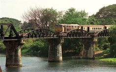 Bridge over the River Kwai (Death Railway) Kanchanaburi