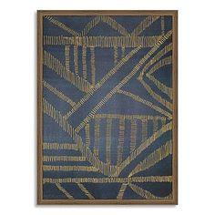 Framed Print - Gold Lines #westelm