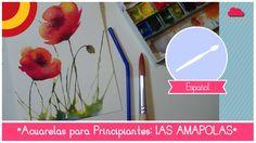 Cómo pintar amapolas