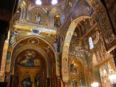 Capella Palatina, Sicily