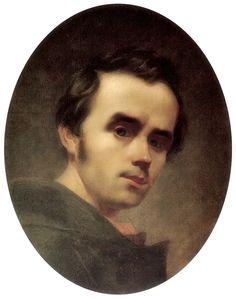 Taras Shevchenko · Autoritratto · 1841 · Ubicazione ignota