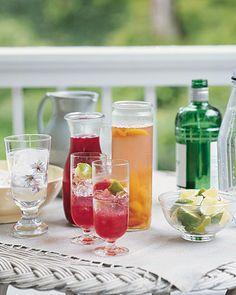 Plum Cocktails - Martha Stewart Recipes