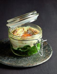 [Premium] Mmh, les oeufs mollets florentine d'Alain Ducasse ! #AlainDucasse #AcadémieDuGoût