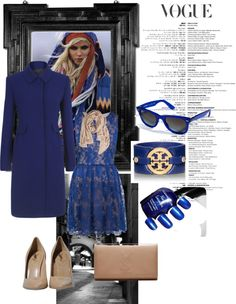 """morning blue .."" by inerufaidah on Polyvore"
