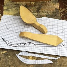 well, if i haven't done something totally silly, this may end up as my first folding spoon, from a rapidly-drying piece of box wood. i daren't hollow the bowl till I've made the hinge cuts, but i'm aware it's going to be hard to hold for doing the hollowing.... we'll just have to see how it goes. Must press-on, I don't want it any drier than it is now! #spoonsfromthewood #marriagespoons #foldingspoon #cuillèredemariage #cuillèredapparat #buis