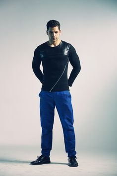 Collection Black And Blue Sweater Pictures - Kianes