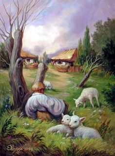 Examples-of-Optical-Illusion-Art-and-Painting