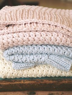 Knitting Pattern  Lattice Blanket for Baby Girl or Baby Boy ~ soft organic cotton or bamboo blend