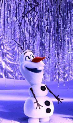 Frozen, he is funny Olaf