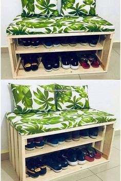 Impressive ideas and projects for DIY wooden pallets . - [Beeindruckende Ideen und Projekte für DIY-Holzpaletten ideas and projects for DIY wooden pallets working projects diy Pallet Seating, Pallet Sofa, Diy Pallet Furniture, Diy Pallet Projects, Outdoor Pallet, Furniture Ideas, Garden Pallet, Furniture Stores, Wood Pallet Beds