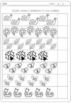 Kindergarten Math Activities, Math Literacy, Kindergarten Math Worksheets, Toddler Learning Activities, Worksheets For Kids, Numbers Preschool, Preschool Printables, Activity Sheets For Kids, Arabic Alphabet For Kids