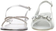 formal flat silver sandals for wedding | Silver Flats for Wedding « foregather.net