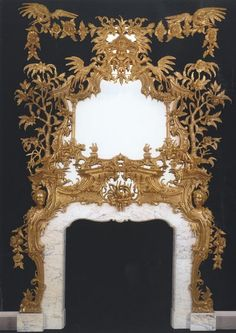Ravishing Chinoiserie Mirror mantle
