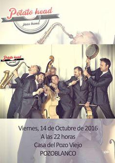 Concierto de Potato Head Jazz Band, Pozoblanco