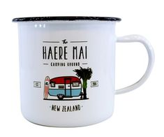 NZ design and gift store. Kiwiana, Gifts For Him, New Zealand, Mugs, Tableware, Enamel, Kitchen, Maori, Dinnerware