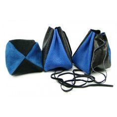 Kožený měšec šedo modrý-černý - peněženky AHAL Unisex, Bags, Fashion, Handbags, Moda, Fashion Styles, Taschen, Fasion, Purse