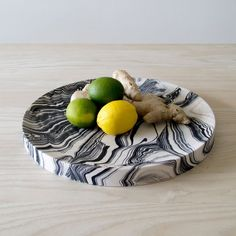 Poured Plate by Troels Flensted