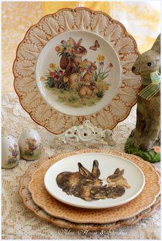 Aiken House & Gardens: Spring / Easter Vignettes