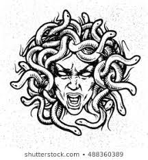 Find Medusa Head Vector Emblem stock images in HD and millions of other royalty-free stock photos, illustrations and vectors in the Shutterstock collection. Thousands of new, high-quality pictures added every day. Medusa Drawing, Medusa Art, Medusa Gorgon, Medusa Head, Medusa Tattoo Design, Medusa Kunst, Tatto Old, Realistic Tattoo Sleeve, Lino Art