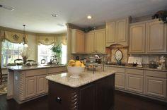 #light #kitchen #cabinets | Brighton Homes® | www.Brightonhomes.com