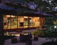 Japanese Home Design, Japanese Style House, Traditional Japanese House, Japanese Modern, Japanese Interior, Architecture Du Japon, Architecture Design, Asian Home Decor, Exterior Design