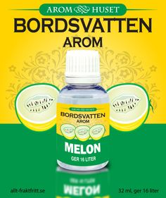 Lemon-Lime (Citron/Lime) 32 ml Bordsvattenarom för kolsyrat vatten Lemon Lime, Water Bottle, Lemon, Water Bottles