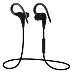 2016 New Fashion Wireless Sports Earphone With Mic Remote Control Bluetooth  4.0 Stereo Headset Headphones for be7ae196dc62