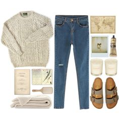 Place your head on my beating heart by lourrystylinson on Polyvore featuring Chicnova Fashion, Birkenstock, Aesop, Philip Kingsley, Topshop, Moleskine and BRONTE