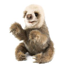 Puppets baby sloths sloths 2549 sloths puppets animal hands kids toys
