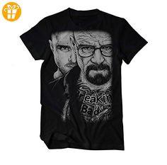 Heisenberg und Pinkman tätowiert Crystal Meth T-Shirt Herren XXX-Large Schwarz (*Partner-Link)