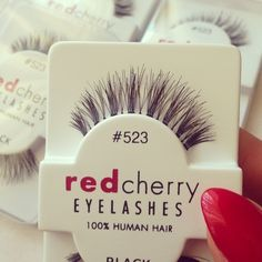 Red Cherry Lashes # 523 These lashes will make your eyes look amazing and flirty