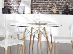 """Résultat de recherche d'images pour """"table en verre ronde"""""""