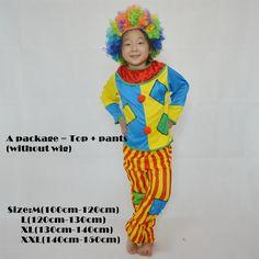 Cosplay cirque clown costume cosplay Halloween costume dress performance vêtements stade vêtements vêtements Costumes De Pâ Clown Halloween Costumes, Halloween Outfits, Easter Costumes, Buy Cosplay, Cosplay Costumes, Costume Dress, Circus Clown, Costume Accessories, Wigs