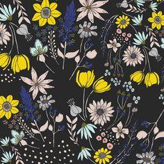Gramercy by Leah Duncan for Art Gallery Fabrics - Central Park Fog - Yardage (1/2 Yard Minimum)