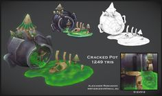 Cracked Pot on Behance