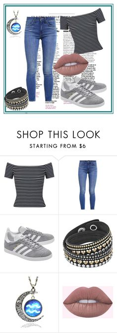 """""""Untitled #285"""" by fashion-style-tv ❤ liked on Polyvore featuring Miss Selfridge, Levi's and adidas Originals"""
