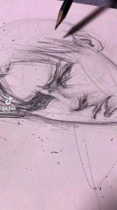 Art Drawings Sketches Simple, Pencil Art Drawings, Cool Drawings, Art Anime, Art Reference Poses, Art Sketchbook, Art Tutorials, Cute Art, Art Inspo