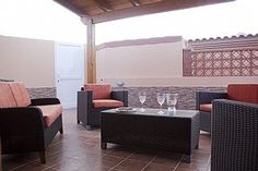 4 Bed Villa in Town, Pool wif Kid Slide, Safety Fence, BBQ, Outdoor Lounges - Castillo Caleta de Fuste Outdoor Lounge, Outdoor Decor, Kids Slide, Entertainment Area, Fence, Swimming Pools, Outdoor Furniture Sets, Bbq, Villa