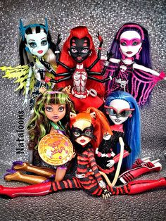 Power Ghouls Monster High Dolls