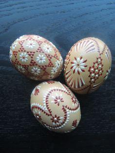 Sorbische Eier | drop pull Pysanky
