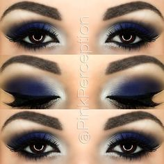 Added some more blue to make it darker ❄️❄️eyeshadows are velocity and…
