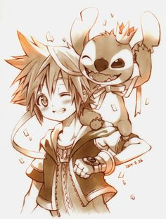 Sora and Stitch