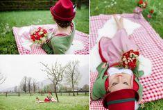 ... traditionell in rot-wei� kariert So ihr Lieben, heute zeigen wir Euch ein Brautshooting mit traditionellen rot-wei� karierten Akzenten...