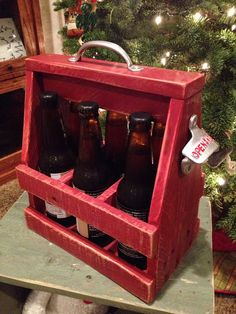 Beer caddy on Etsy, $35.00