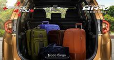 Modo Carga: Aumenta la capacidad de la cajuela al configurar los asientos de la tercera fila. #InesperadaBRV  Con la tecnología exclusiva de Honda, Space4You, no tendrás límites para trasladar todo lo que necesites. Sus asientos configurables desde la segunda hasta la tercera fila, hacen de BR-V tu mejor aliada en cada viaje.