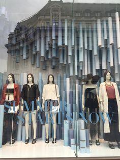 """H&M,Oxford Street,London,UK, """"SUMMER STARTS NOW......YEAH"""", pinned by Ton van der Veer"""