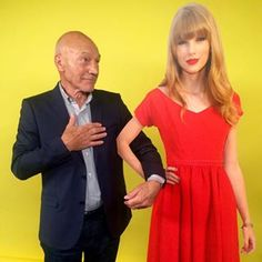He possibly fangirled even harder than the rest of us, tbh. | Go Home Everyone, Sir Patrick Stewart Won 2015