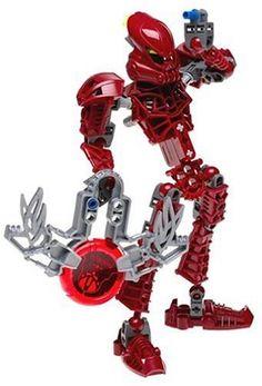 LEGO Bionicle: Red Toa Vakama (8601) LEGO